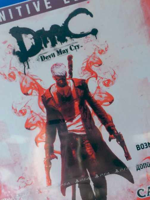 DmC Devil May Cry Definitive PS4 рус+ обмен